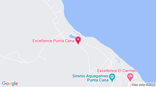 Excellence Punta Cana Adults Only All Inclusive Map