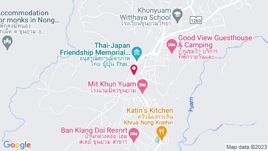 Baansookjai at Buatong Map