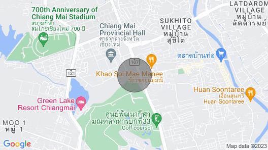 Leafy Greens Chiangmai : Mushroom House M2 Map