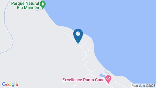 Zoetry Agua Punta Cana Map
