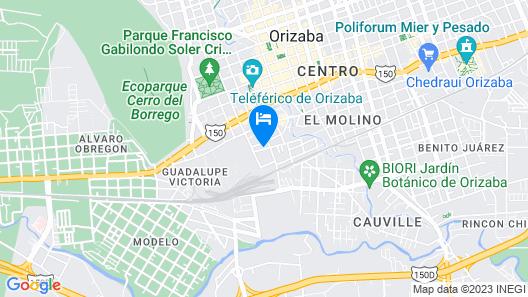 Estacion Alameda Map