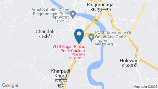 VITS Sagar Plaza, Pune Chakan Map