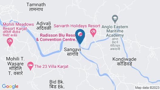 Radisson Blu Resort & Spa Karjat Map