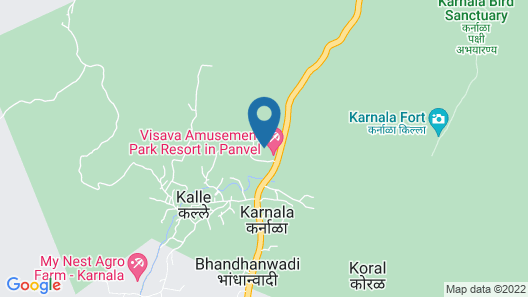 Panoramic Resort Karnala - Panvel Map