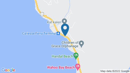 OUANGA BAY BEACH HOTEL Map