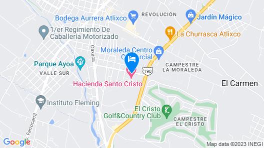 Hotel Boutique La Rioja Map