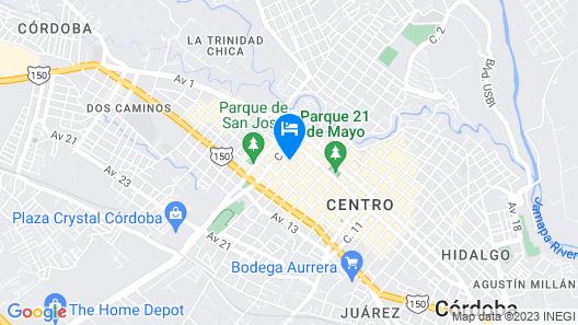 Suites Ripoll Córdoba Map