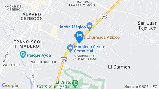 Villas Grand Gardenia Map