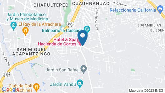 Hotel & Spa Hacienda de Cortes Map