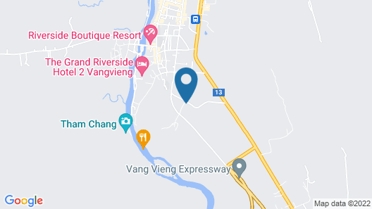 Diamond Resort Vang Vieng Map
