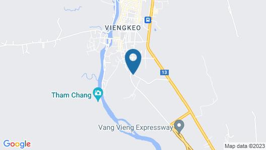Savanh Sunset View Resort Map