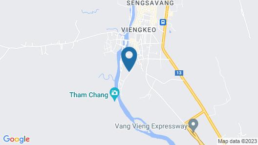 Tmark Resort Vang Vieng Map