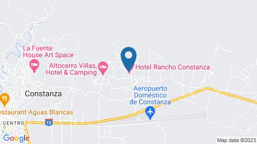 Hotel Rancho Constanza Map