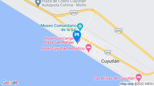 Concierge Plaza San Rafael Map
