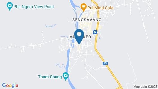 Eden De Vangvieng Hotel Map