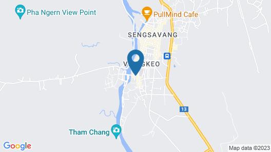Villa Vang Vieng Riverside Map