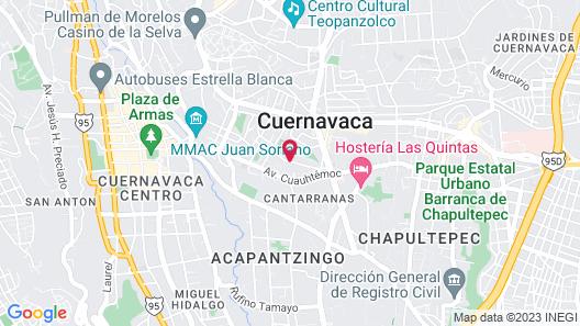 La Joyita Map