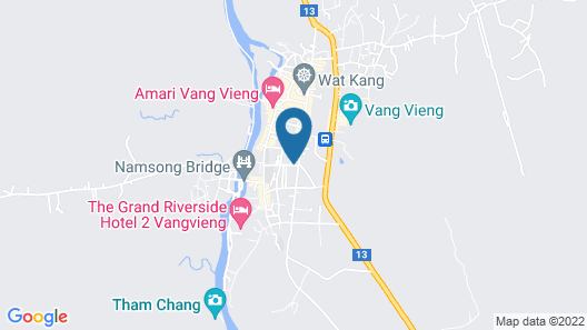 Laos Haven Hotel Map