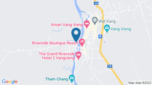 Vieng Tara Villa Map