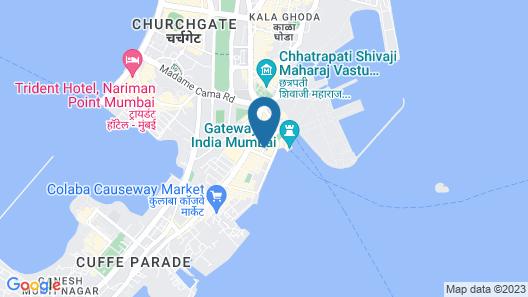 Taj Mahal Tower, Mumbai Map