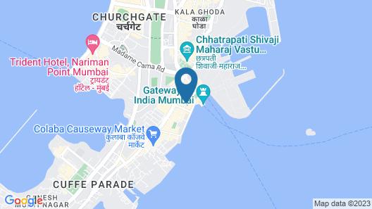 The Taj Mahal Palace Mumbai Map