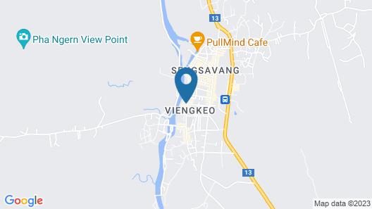 Vansana Vang Vieng Map