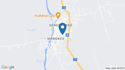 Vang Vieng Boutique Hotel Map