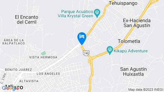 City Express Atlixco Map