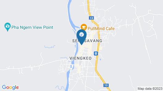 Amari Vang Vieng Map