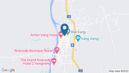 Mountain View Riverside Boutique Hotel Map