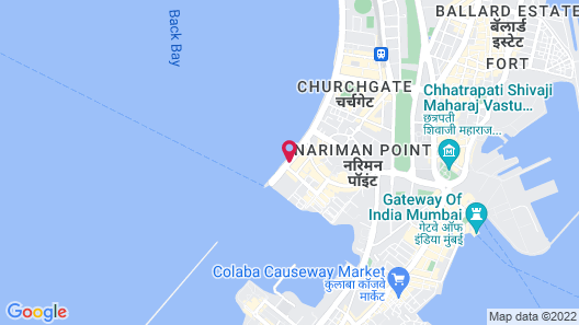The Oberoi Mumbai Map
