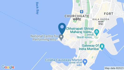 The Oberoi Mumbai Map
