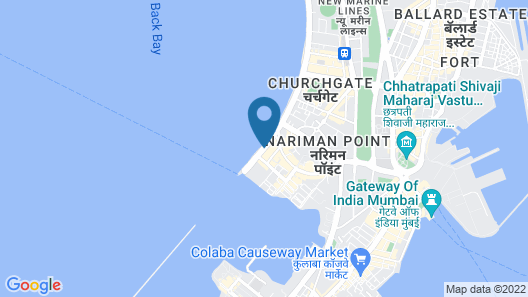 Trident, Nariman Point Mumbai Map