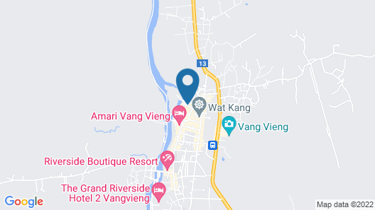 Vang Vieng Camellia Hotel Map