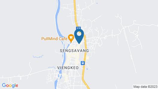 Premier Vang Vieng Hotel Map