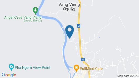 Vang Vieng Eco Lodge Map
