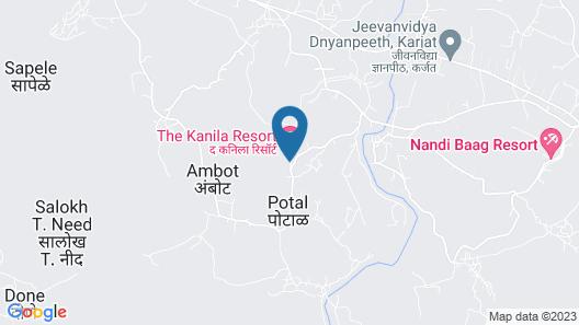 The Leela Resort Karjat Map