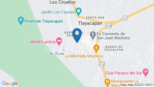 Casa Tonantzin 2 Map