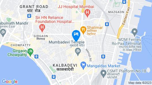 Hotel Al Madina Map