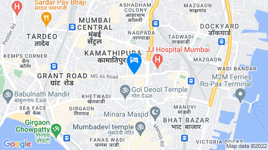 Hotel Indore Map
