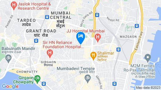Hotel Amber Palace Map