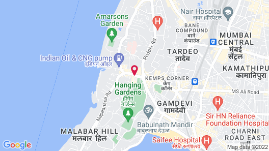 The Shalimar Hotel Map
