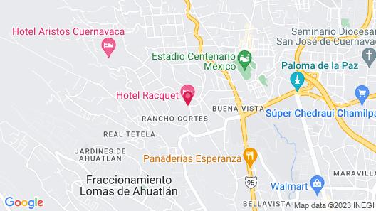 Racquet Cuernavaca Map