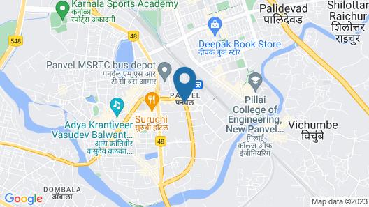 Swaraj Lodge Map