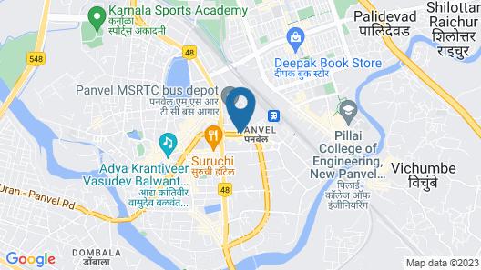 Hotel Geetanjali Map