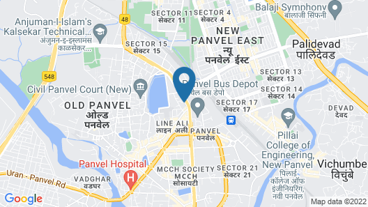 SPOT ON 18750 Hotel Panvel Palace Map