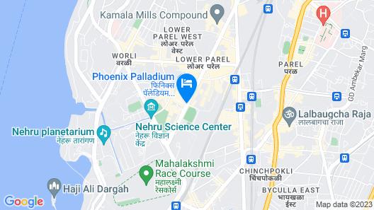 The St. Regis Mumbai Map