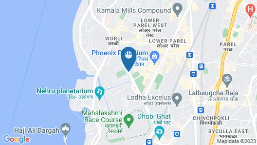 Four Seasons Hotel Mumbai Map