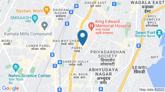 ITC Grand Central, a Luxury Collection Hotel, Mumbai Map