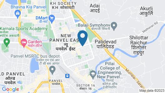 Hotel Kolkar Map